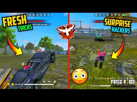 FREE FIRE - LATEST FRESH TRICKS TO SURPRISE YOUR HACKERS😳🔥| DON'T TRY AT HOME😱⚡