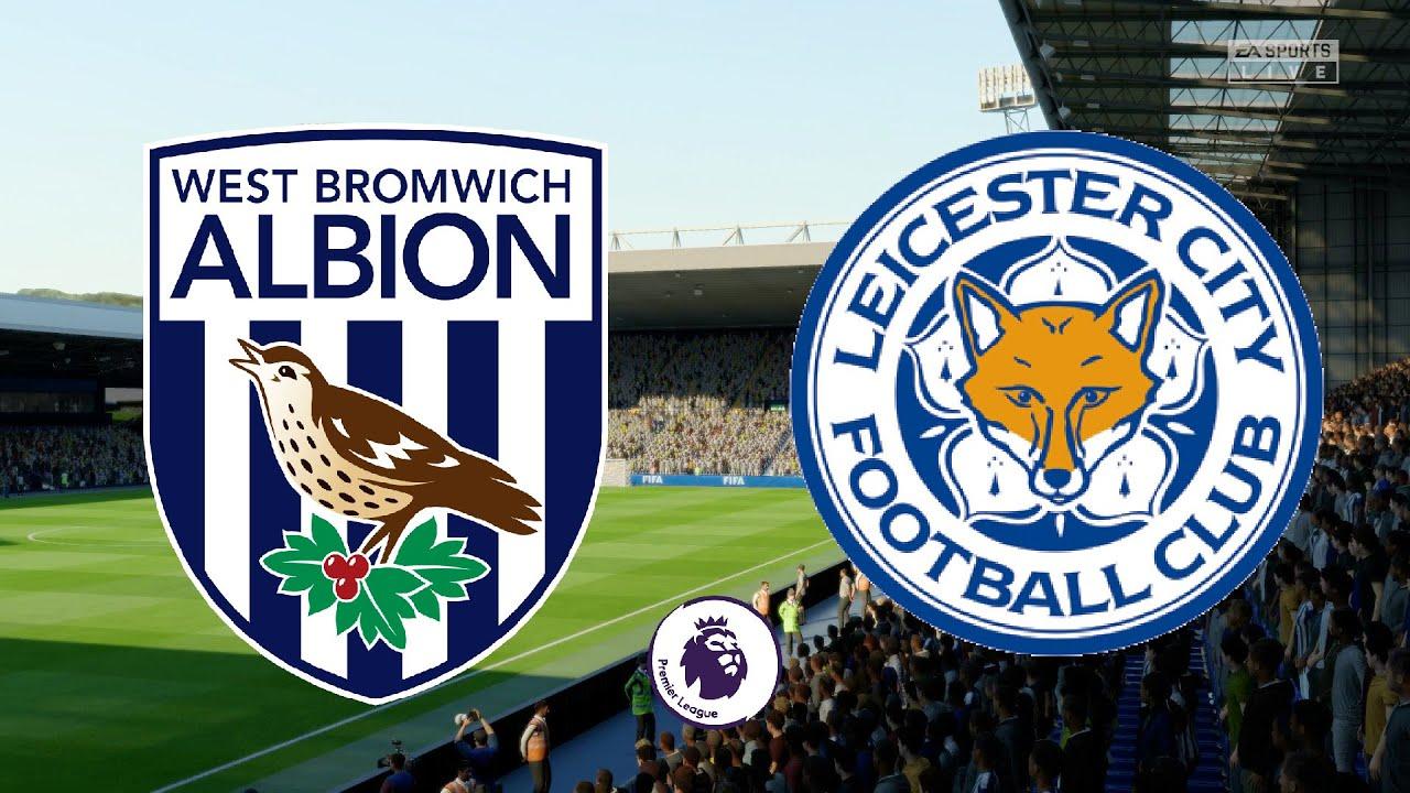 Premier League 2020/21 - West Brom Vs Leicester City ...