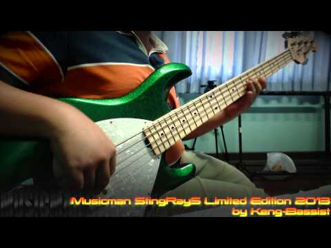 Casiopea-Flying Bass Cover (intro) by Keng-Bassist