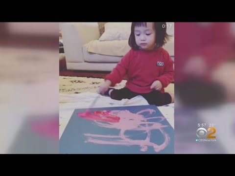 Pint-Sized Picasso Making Waves In The Art World