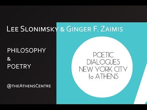 NYC to ATHENS : Lee Slonimsky, Carol Goodman & Ginger F. Zaimis