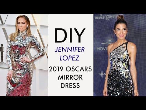 DIY: Jennifer Lopez 2019 Oscars MIRROR DRESS!! -By Orly Shani