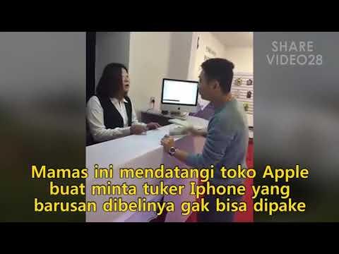 Beginilah Jadinya Kalo Penjual Menggap Remeh Pembeli. *MENDING IPHONE NYA BUAT SAYA MAS