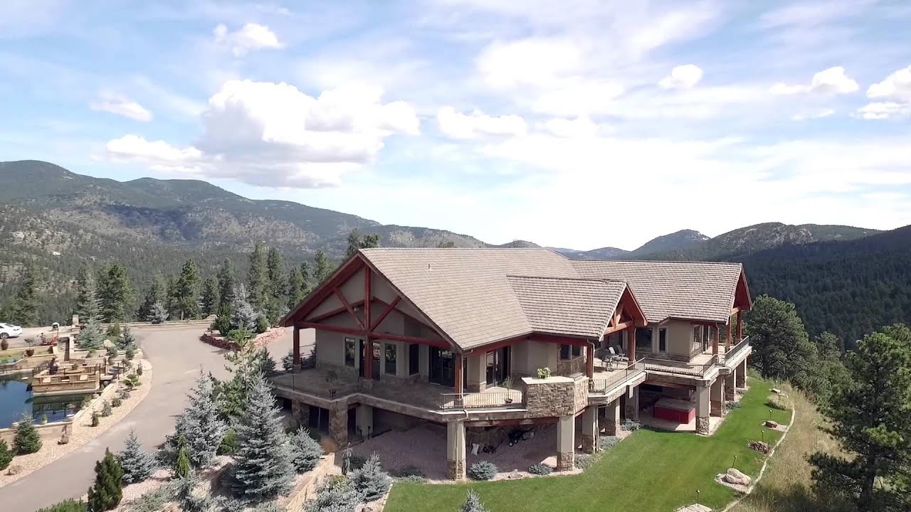 577 Bear Meadow Trail Evergreen Colorado Youtube