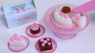 Kawaii Mini Gummy Cakes Making Kit【New DIY Candy】