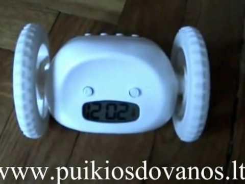 Run Away Alarm Clock Clocky Review