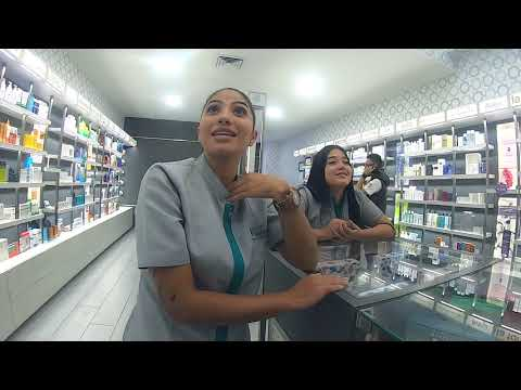 Flirting with the MOST GORGEOUS PHARMACIST EVER in Colombia
