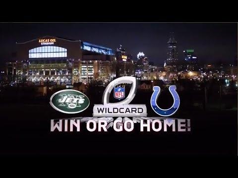 Jets @ Colts 2010 AFC playoffs condensed