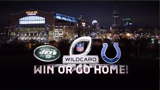 Jets @ Colts 2010 AFC playoffs condensed