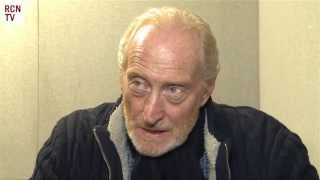 Game Of Thrones Charles Dance Interview - Tywin Lannister