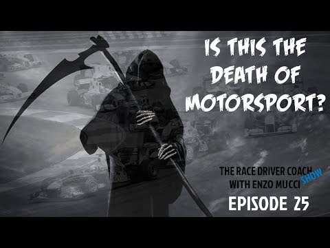 Are Electric Powered Cars This The Death Of Motorsport? - TRDC SHOW Ep #25 Enzo Mucci