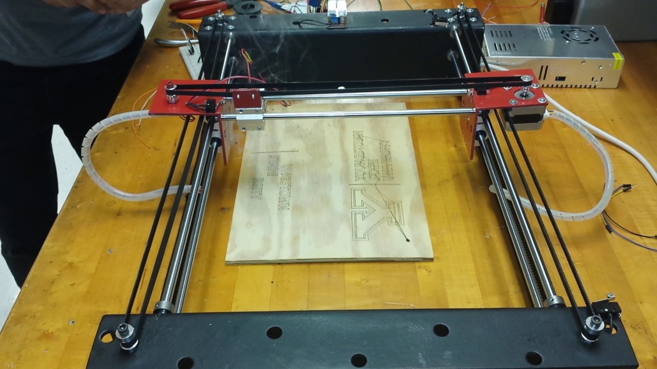 Diy cheap arduino laser engraver machine is