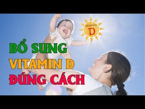 Bổ sung vitamin D và canxi thế nào đúng cách?