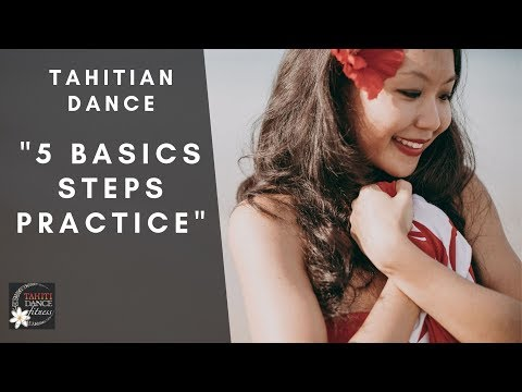 Basics on Hele Song - How to Tahitian Dance Basics Tutorial/Polynesian Dance/Ori Tahiti/ タヒチアンダンス thumbnail