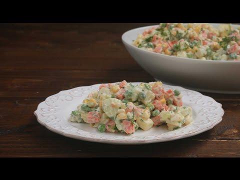 Russian Potato Salad (Ensalada Rusa)