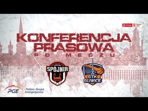 Konferencja prasowa po meczu PGE Spójnia Stargard - Legia Warszawa