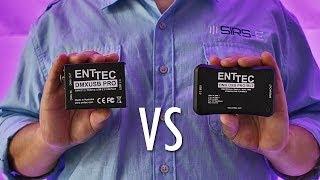Enttec DMX USB Pro vs Enttec Pro 2 Mk2
