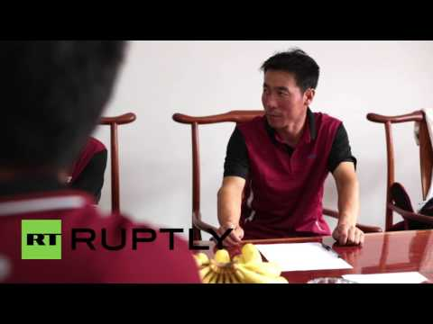China: Beijing courier company installs stress relief room for employees