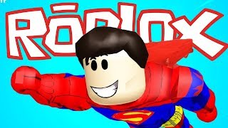 SUPER FORCE SIMULATOR in ROBLOX. SUPERHERO IS ALREADY IN THE CITY.