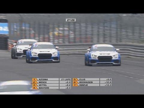 Audi Sport TT Cup 2017. Race 2 Norisring. Last Laps