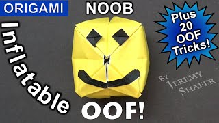Inflatable Noob + 20 Amazing OOF Tricks! - Roblox Origami