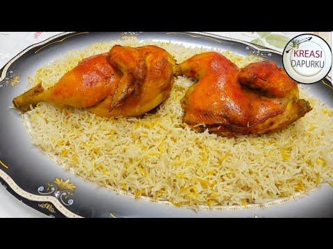 Resep Nasi Mandi Ayam/chicken Mandi Recipe ALA KREASI DAPURKU