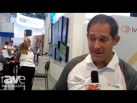 InfoComm 2016: tvONE Features ONErack Powered Mounting System