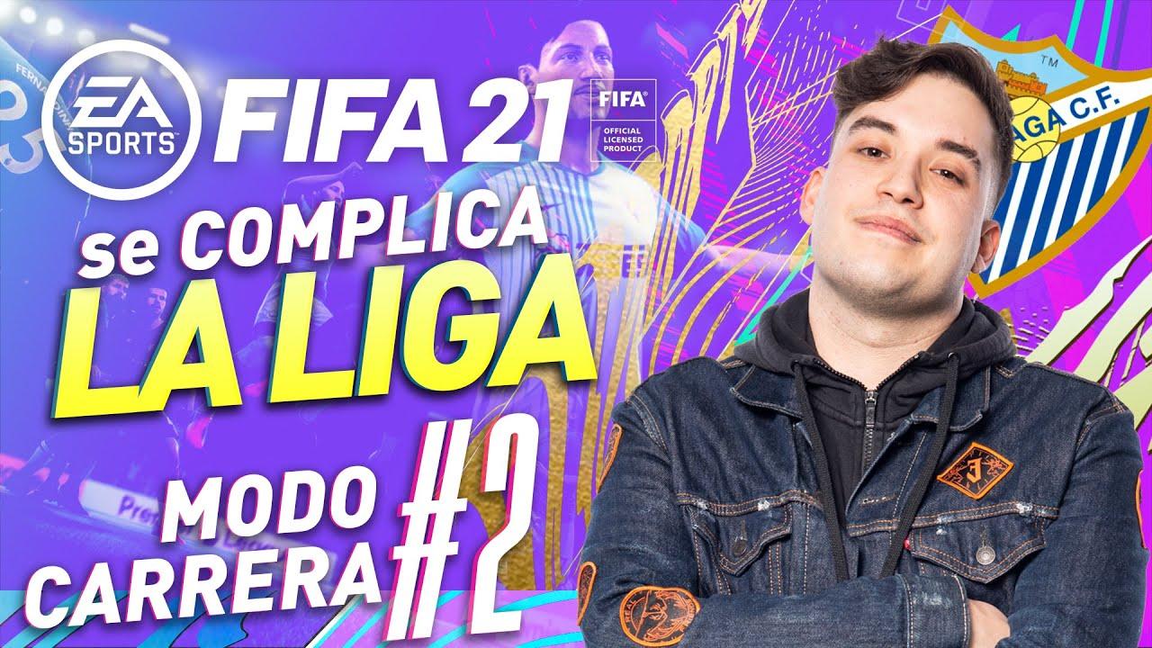 EL ASCENSO SE COMPLICA - FIFA 21 MODO CARRERA MALAGA DE IBAI LLANOS Y BEN10 #2