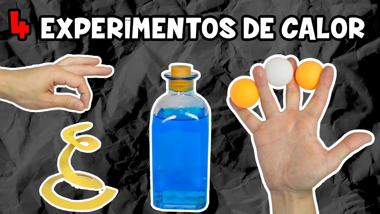 Calor NiñosCon Fáciles 4 Caseros Para Experimentos 2EDbeWH9IY