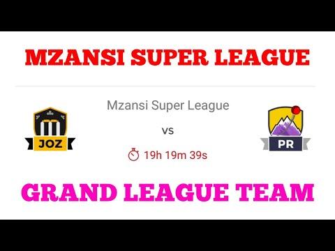 JOZ VS PR DREAM 11 TEAM & PLAYING 11 TEAM, JOZI STARS VS PAARL ROCKS , MZANSI SUPER LEAGUE 2018