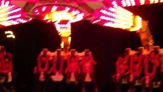 Riding the Gforce at the Orange Show
