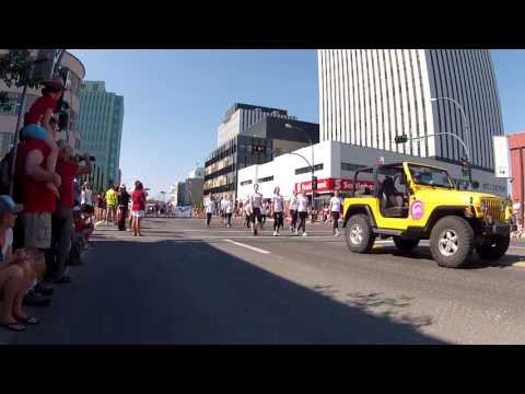 Yellowknife NWT Canada - Canada Day Parade July 1, 2013 HD
