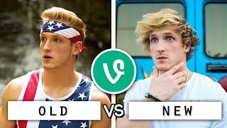 Logan Paul First vs Last Vines Compilation / Who's the Best