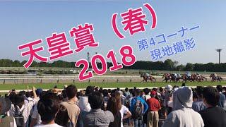 【現地撮影】GⅠ 天皇賞(春)2018 レインボーライン 京都競馬場