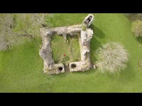 NEW ~ Pendragon Castle in my Eden Valley Cumbria (including Drone Footage)