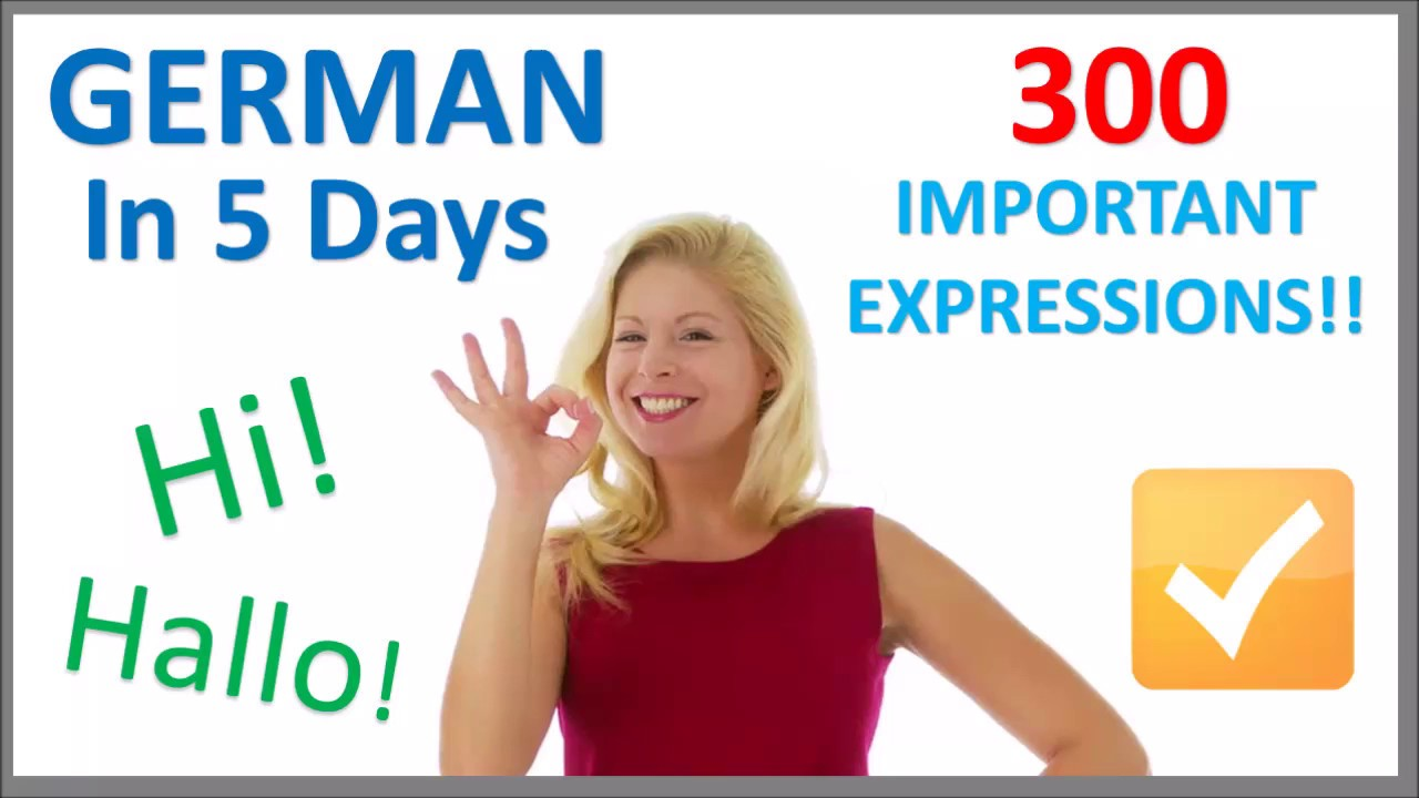 how to learn german in 30 days