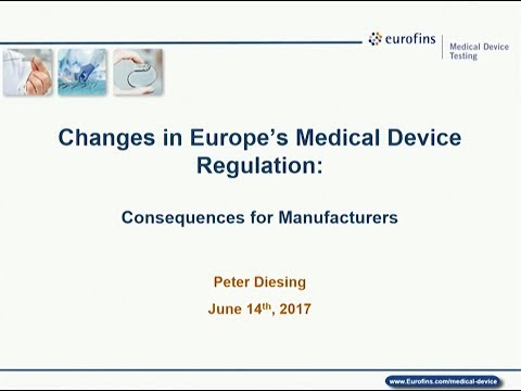 Changes in Europe's Medical Device Regulations: Consequences for Manufacturers