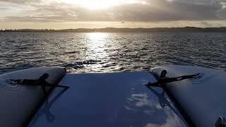 Onboard test Takacat 340LX / 8hp Yamaha