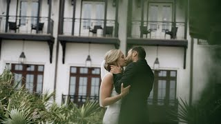 Rosemary Beach Wedding at THE PEARL | Kate & Bradford | Gabe Metz Film & Photo