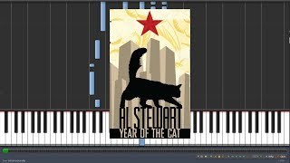 Al Stewart - Year Of The Cat [Piano Tutorial] (Synthesia)