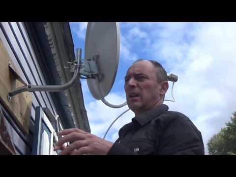 Как настроить триколор антенну