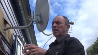 ставим спутниковую антенну своими руками