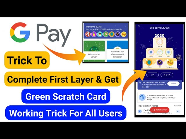 GooglePay Trick To Complete Your First Layer & Get Scratch Card😍   GooglePay Cake Stamp Offer Trick