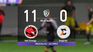 Обзор матча Hell Energy 11 0 Энергия Турнир по мини футболу в городе Киев