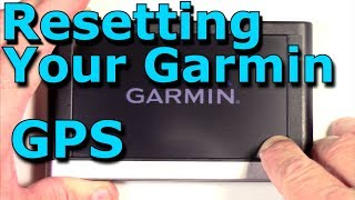 How To Restore / Reset a Garmin Nuvi gps to Factory settings Both Methods / Ways
