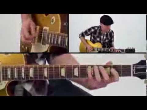 30 Blues Grooves - #29 Hip Shake - Guitar Lesson - Jeff McErlain