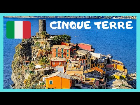 ITALIAN RIVIERA (CINQUE TERRE) and the disappointing town of VERNAZZA