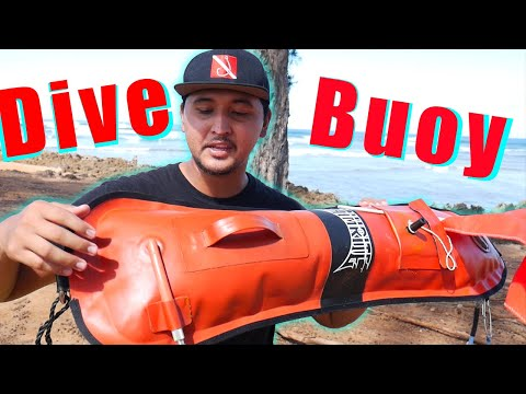 Hawaii Spearfishing Essentials: Dive Buoy And Flag!