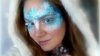Frozen Makeup and Face Painting Tutorial
