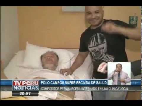 Compositor Augusto Polo Campos fue internado de emergencia